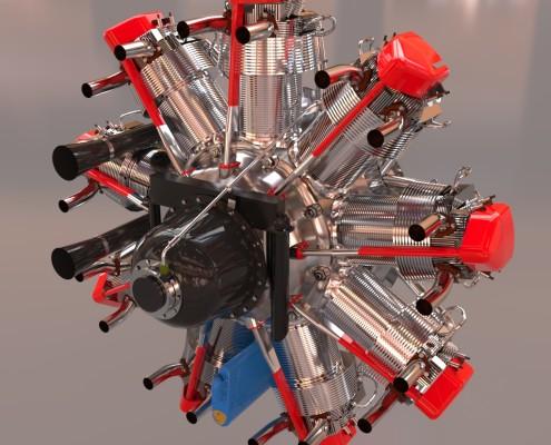 Bristol-Mercury - Model by Filippo Cinati
