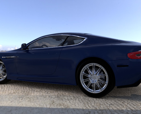 FluidRay RT real-time automotive rendering