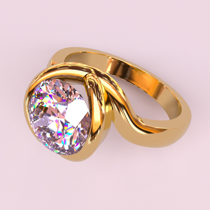 Real-time jewerly rendering