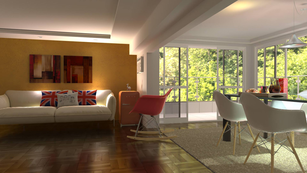 Fluidray rt 1 1 3 released Interior design rendering software free
