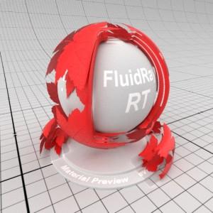 FluidRay RT Alpha Transparency