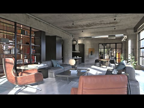 Interior Rendering with SketchUp and FluidRay