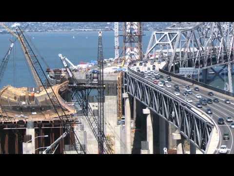 Official San Francisco-Oakland Bay Bridge Construction Time-Lapse