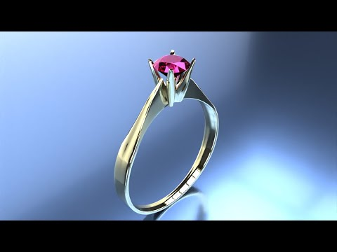 Jewelry Rendering with FluidRay