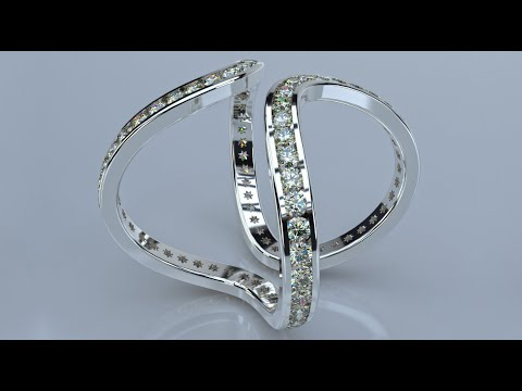 Jewelry Rendering with Rhino and FluidRay