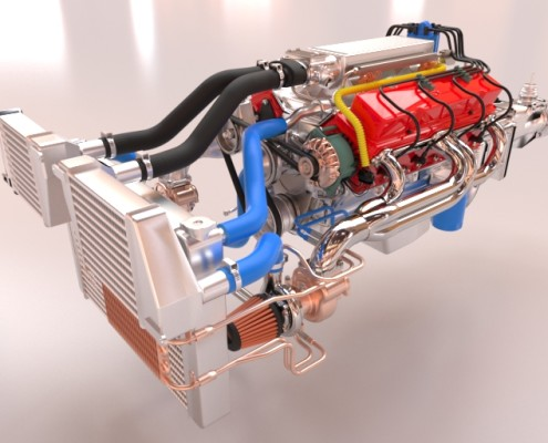 Engine - Model by Daniel