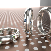 Jewelry Rendering | Ring, FluidRay real-time realistic rendering