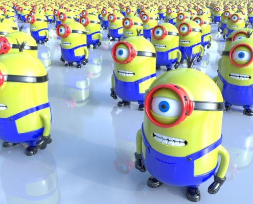 Minions - Model by Jose Maik