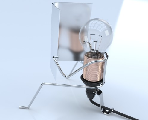 Reading Bulb - Model by Rendl Light Studio