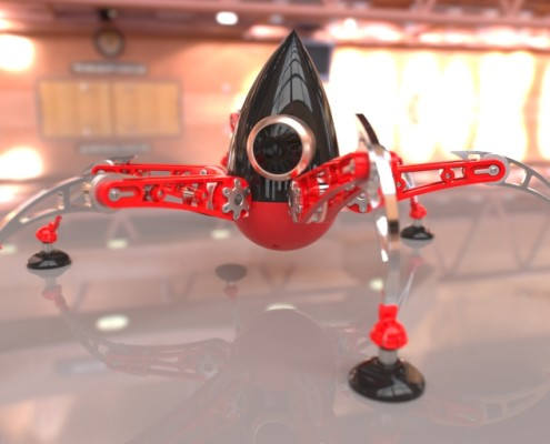 Spider - Model by Simon Williamson