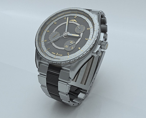Real-time rendering of a watch by Roberto Pittaluga