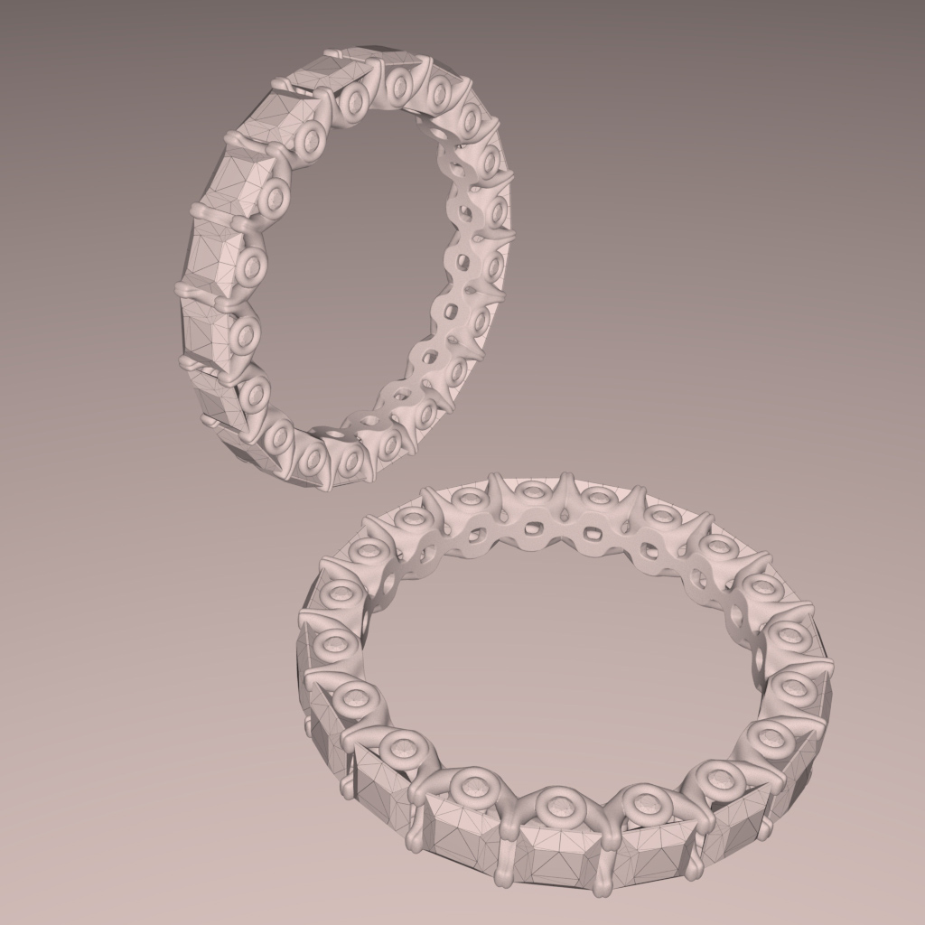 3D Jewelry Design Rendering in Real-Time, FluidRay RT Software