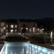 Exterior Render at night with FluidRay