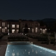 Exterior Rendering at night with FluidRay