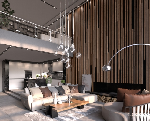 Interior Rendering - FluidRay