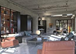 luidRay Living Room Interior Render